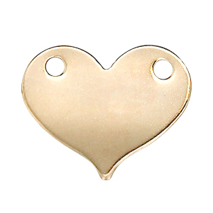 14kt Gold Stamping Blank