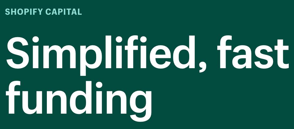 Shopify Capital Logo