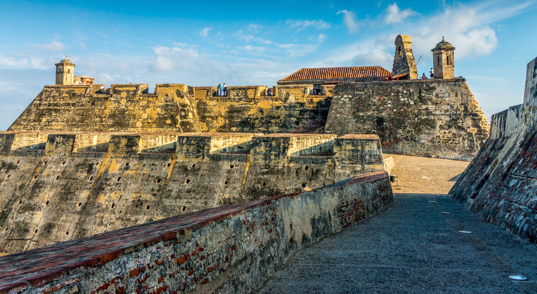 el castillo de san felipe cartagena  what to see in Colombia