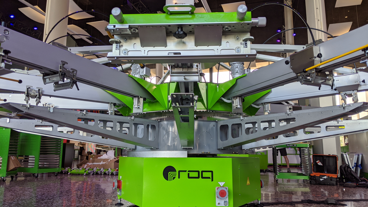 Every ROQ made since 2018 is compatible with ROQ's digital hybrid printing system.