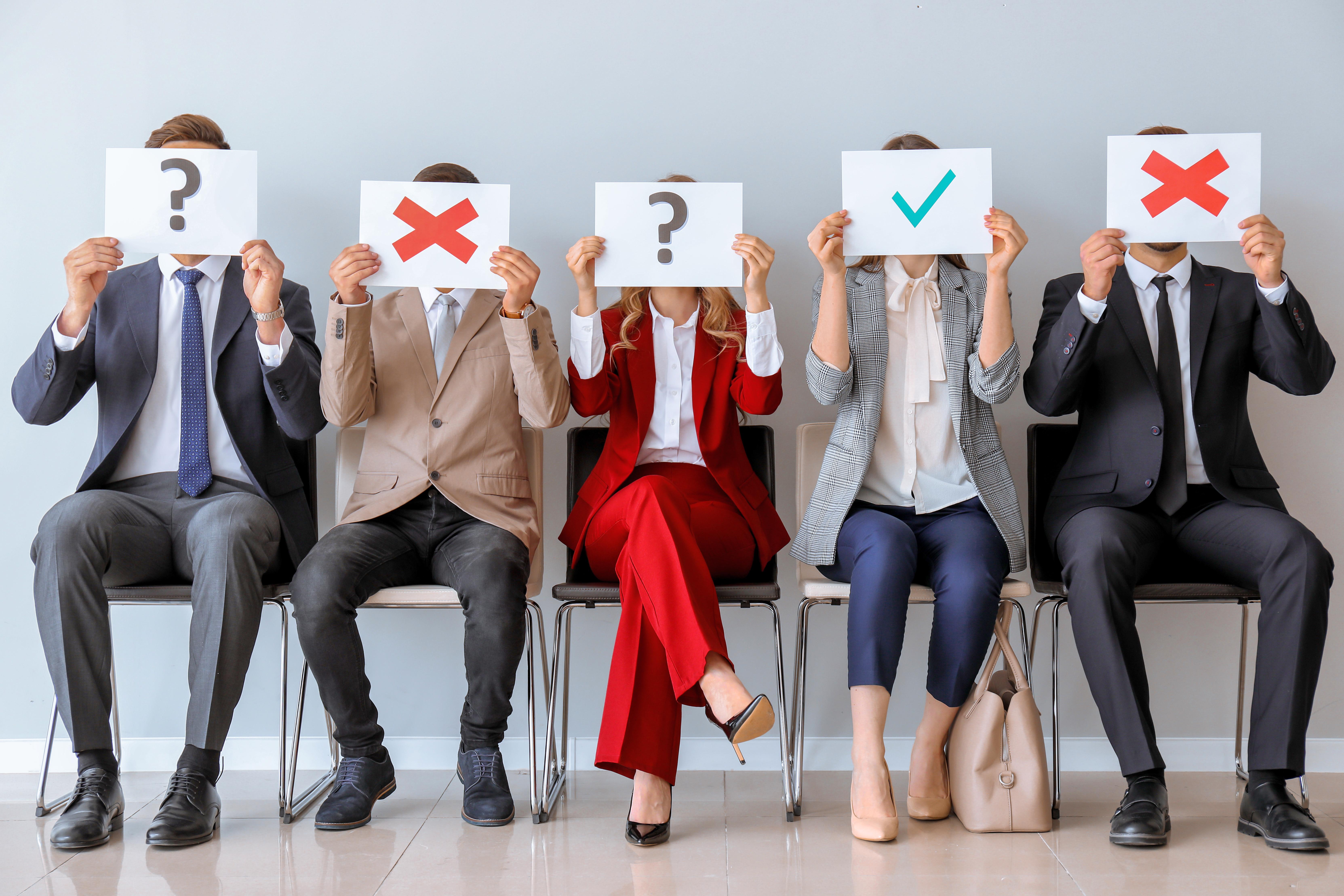 Mannerisms for Job Interviews