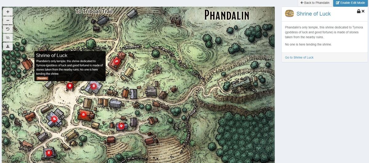 Kanka Interactive Map