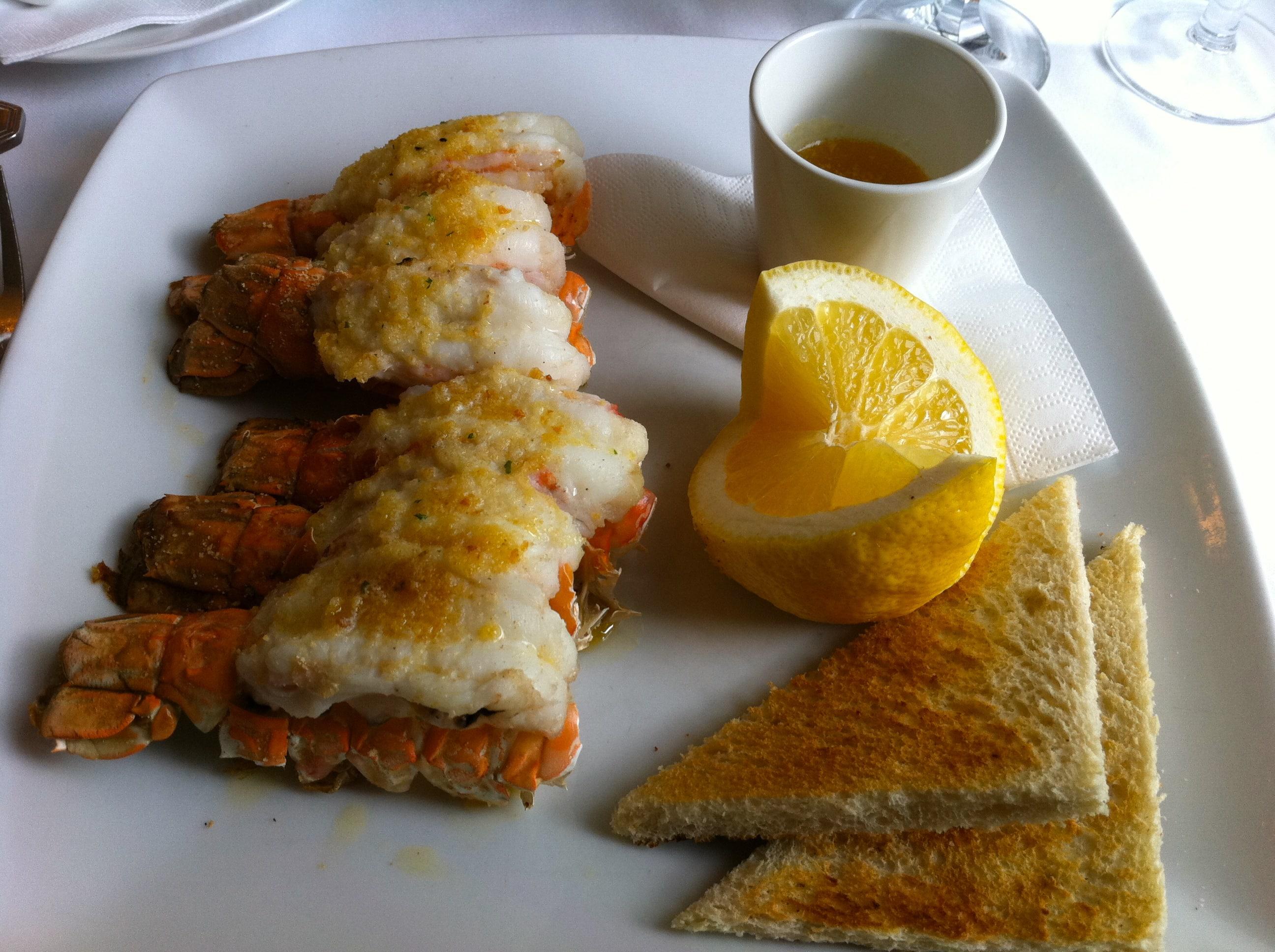 Restaurant Laekjarbrekka langostines seafood iceland food