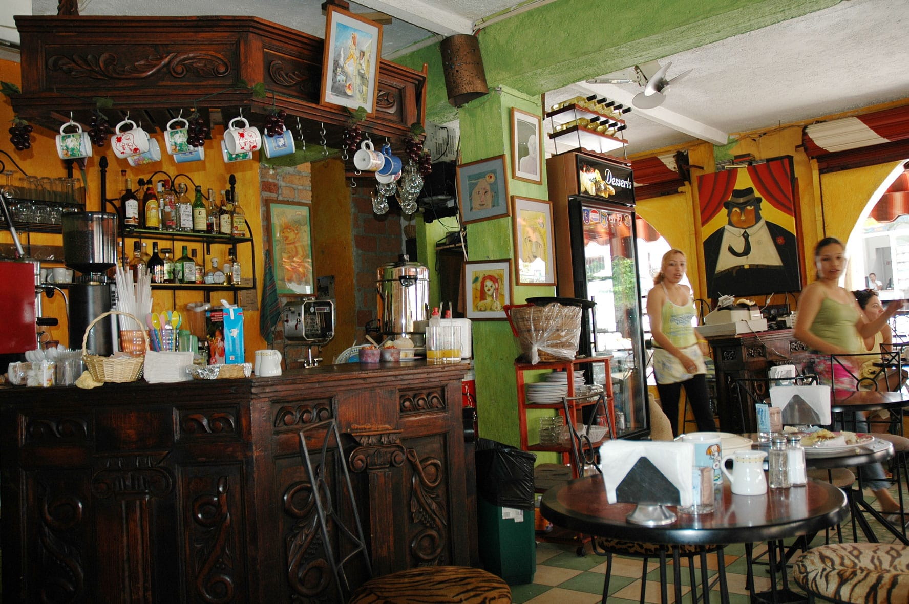 A local eatery in Mexico City
