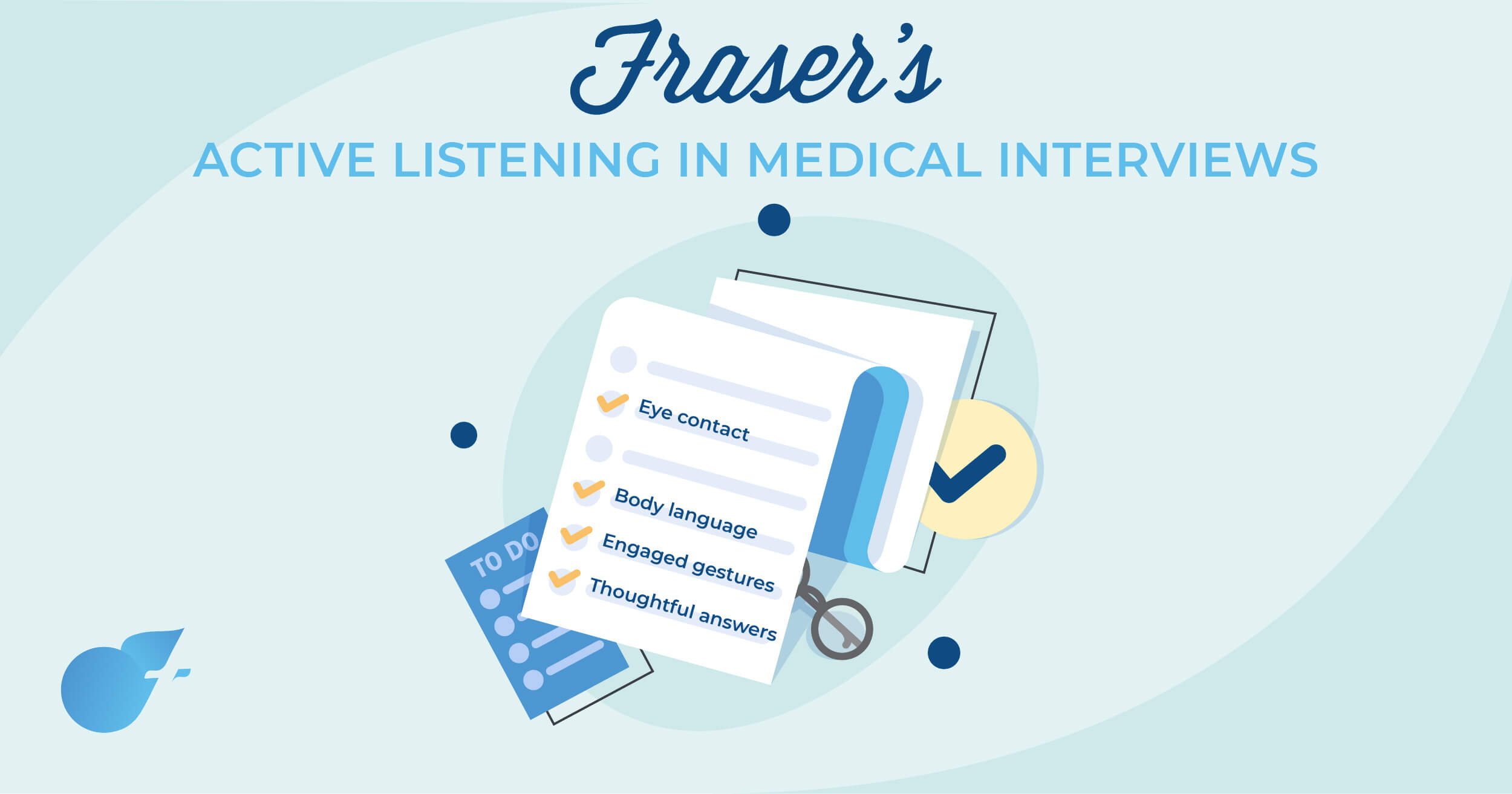 Active listening skills in medical interviews (Interview tips)