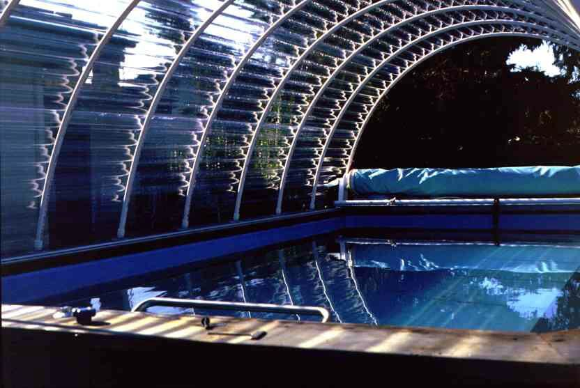 enclosed Original Endless Pool in Marin County, California