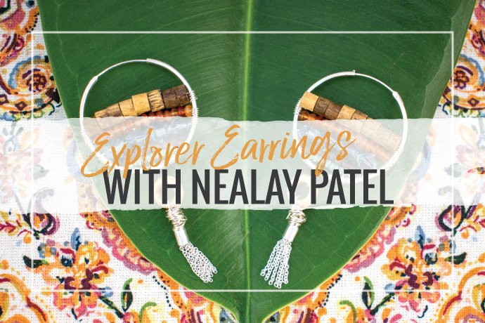 Nealay Patel explores sterling silver earring making supplies in this fun tutorial on how to make beautiful explorer earrings.