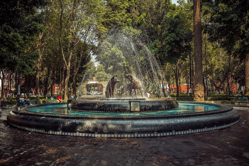 Exporing the Coyoacan neighborhood is a cool thing to do in Mexico City