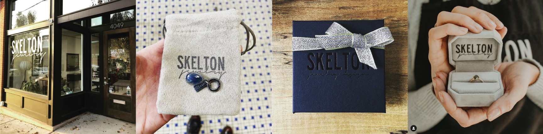 Samantha Skelton Jewelry branding