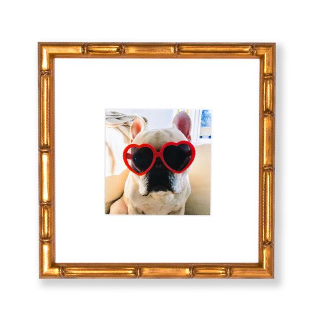 Gold Bamboo Instagram Mini Frame