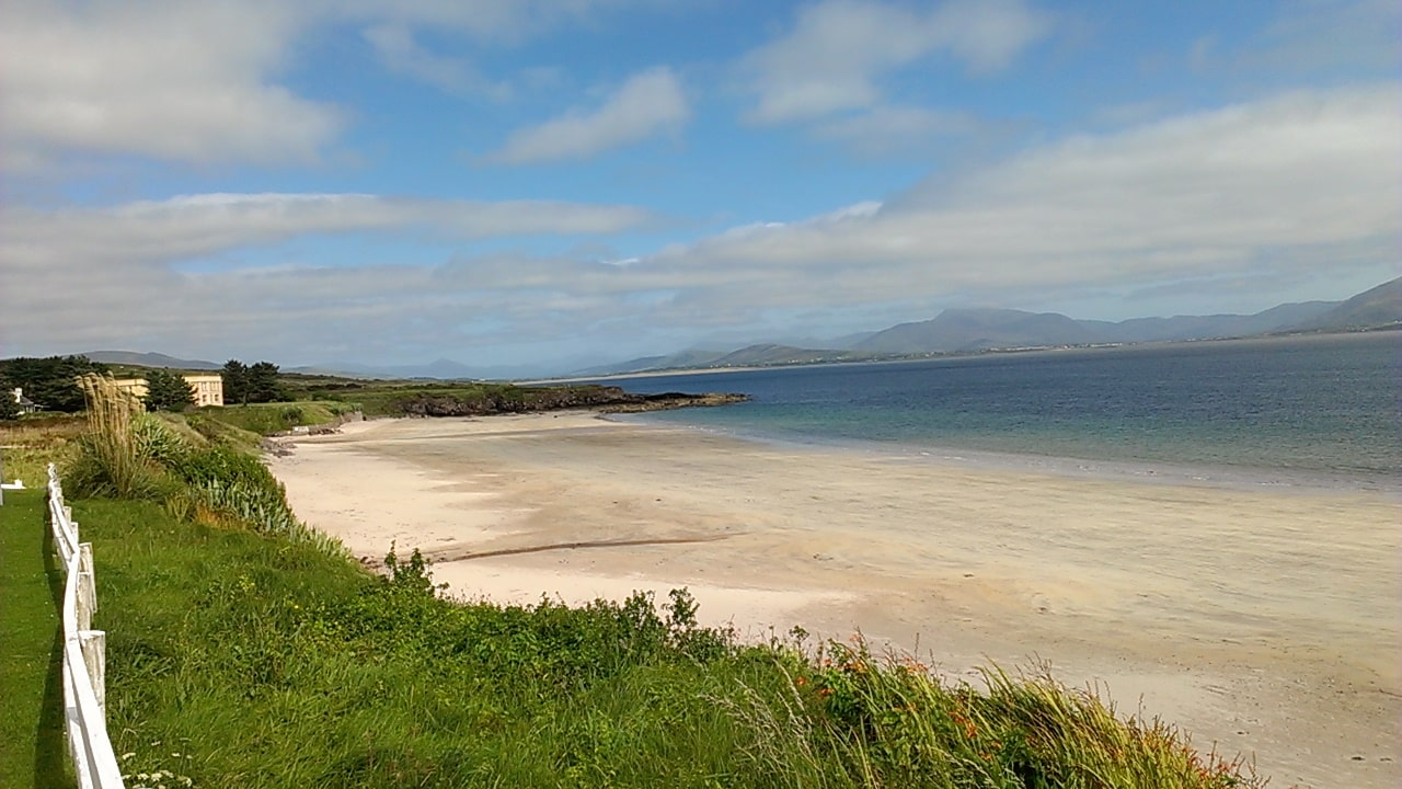 Visiting beautiful Ballinskelligs beach is an awesome thing to do in Ireland