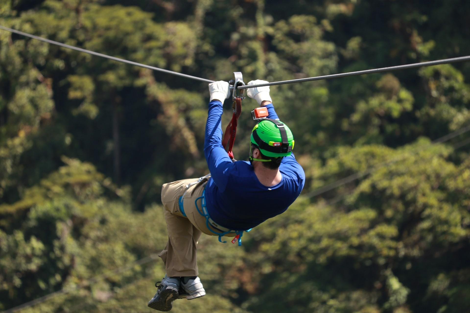The zipline at Toro Verde Adventure Park is an awesome point of interest in Puerto Rico