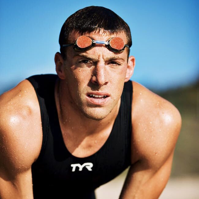 Open water swimmer Fran Crippen