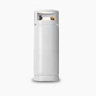 Cilindro de gás de 20 quilos para pequeno consumidor da Ultragaz na cor branca