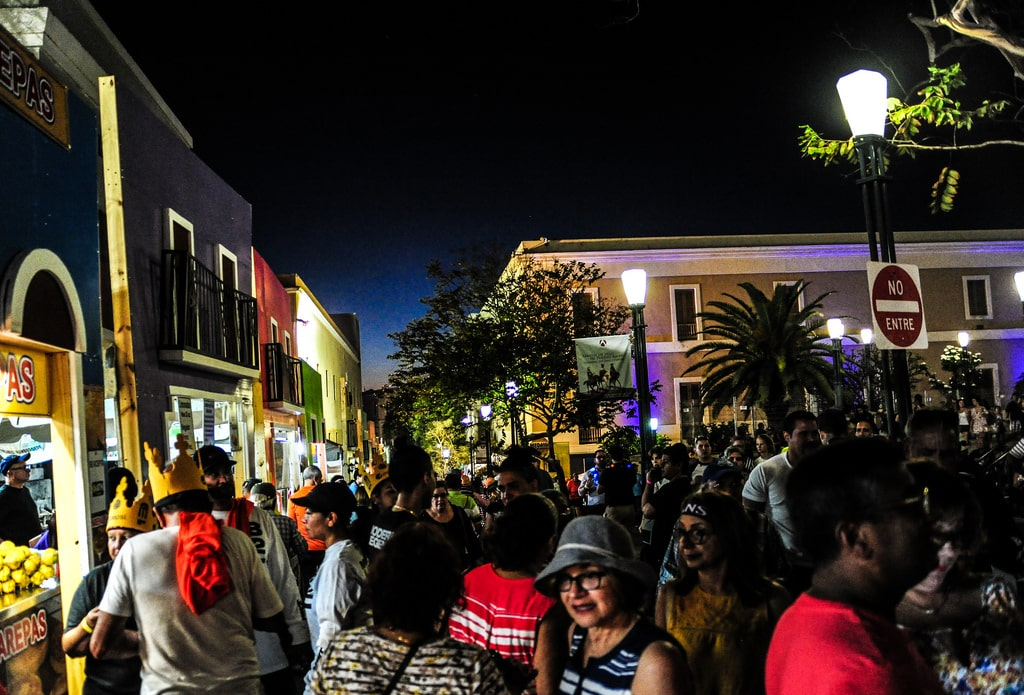 San Sebastian Street Festival is one of the fun things to do in san juan puerto rico