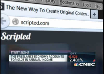 Scripted.com Mentioned on CNBC Story About Freelance Economy