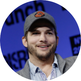 Ashton Kutcher, Co-founder and General Partner at Sound Ventures