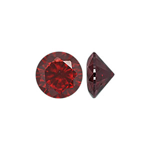 Garnet CZ Stone - Item CZ40GT
