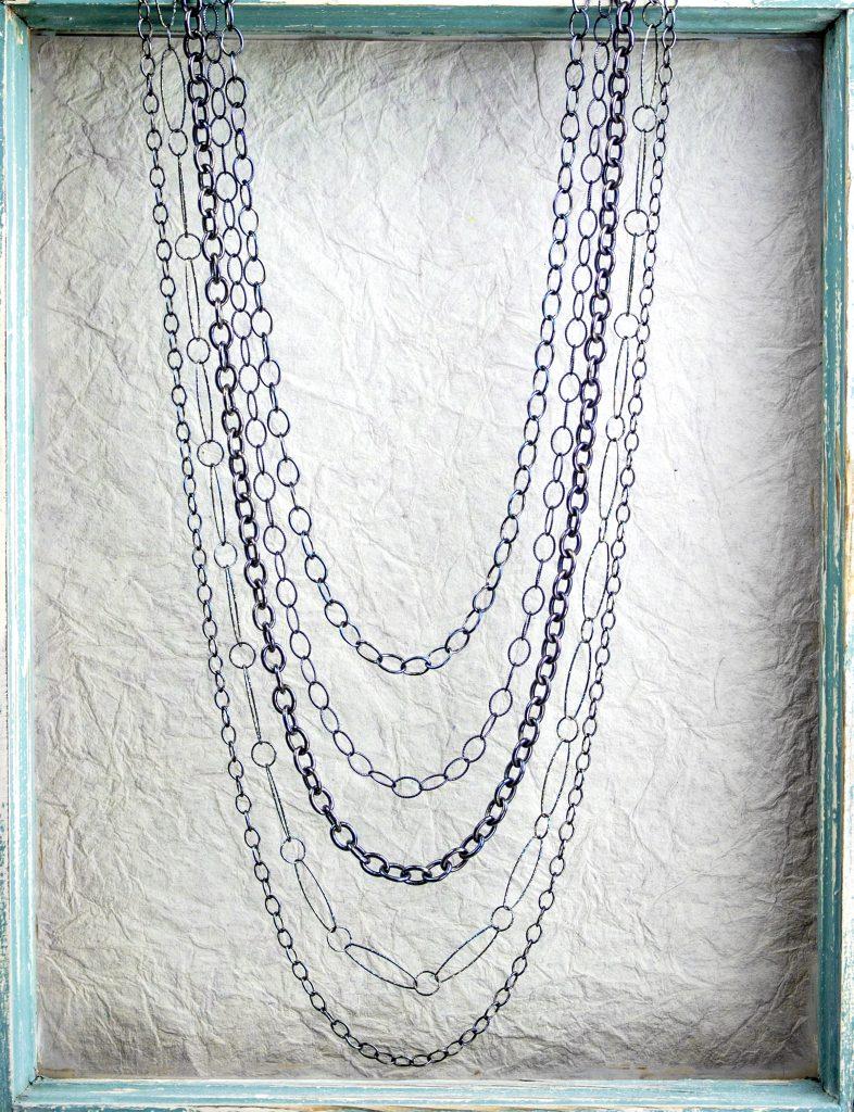 Multistrand Necklace Designs by Brenda Schweder