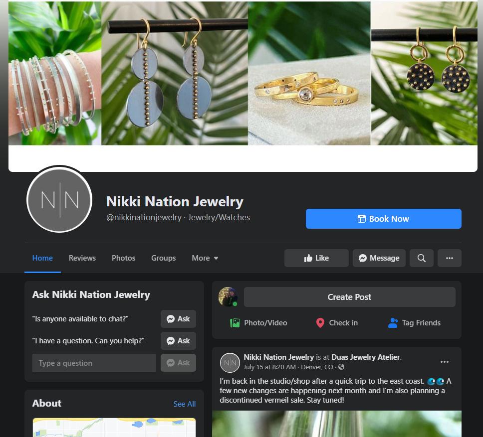 Nikki Nation Facebook page