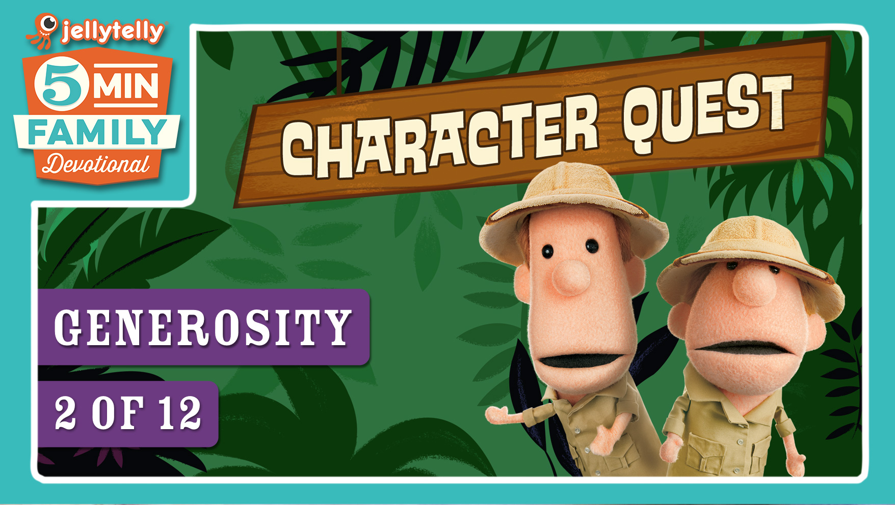 Generosity - Character Quest 5 Minute Family Devotional