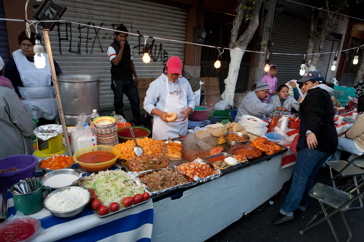 street food is one of the best mexico city attractions