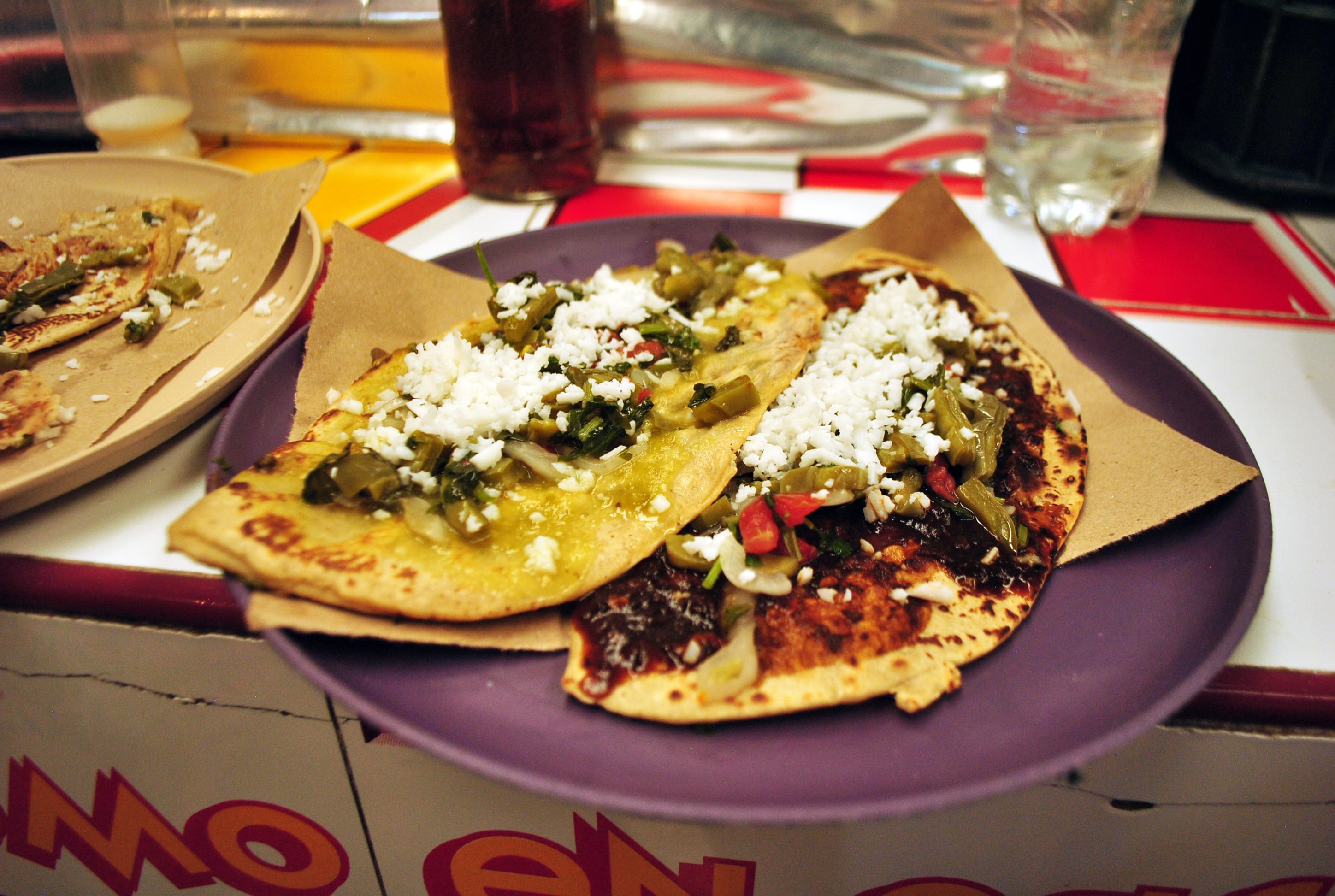 Tlacoyos in Mexico City