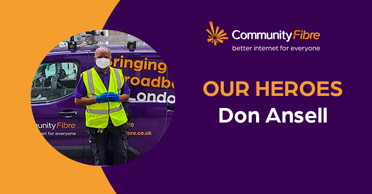 Our heroes: Meet Don Ansell