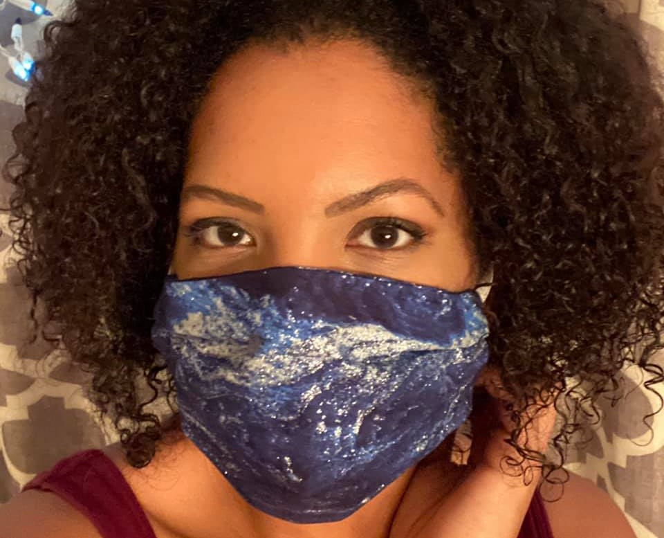 At the start of the pandemic, Calynn Evans, Senior Technical Assistance Liaison, heard there was a shortage of personal protective equipment (PPE) among health care workers. She decided to lend a hand to those on the frontlines.