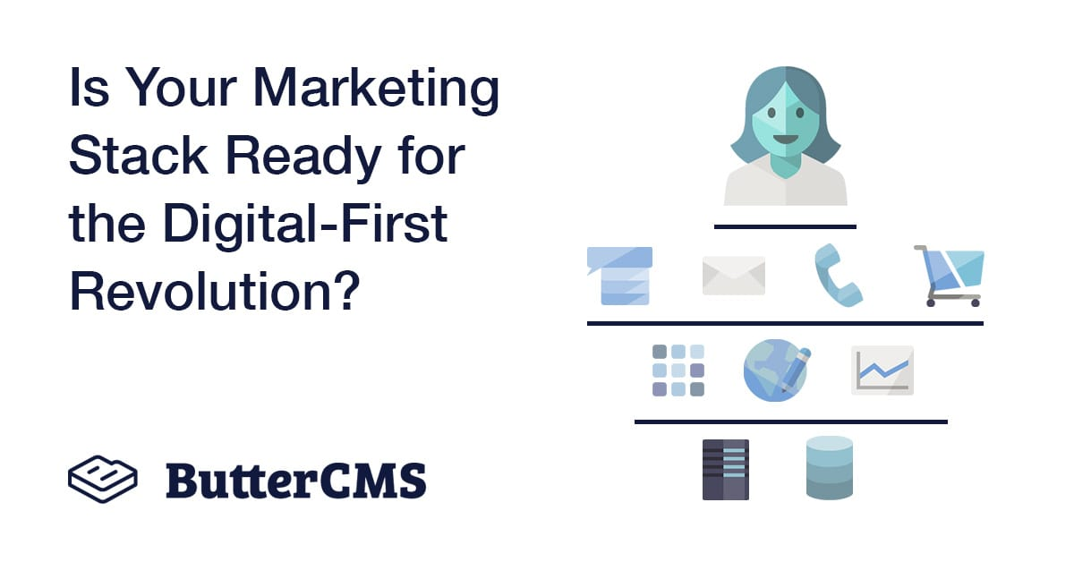 Marketing stack for the digital first revolution - Cover Image