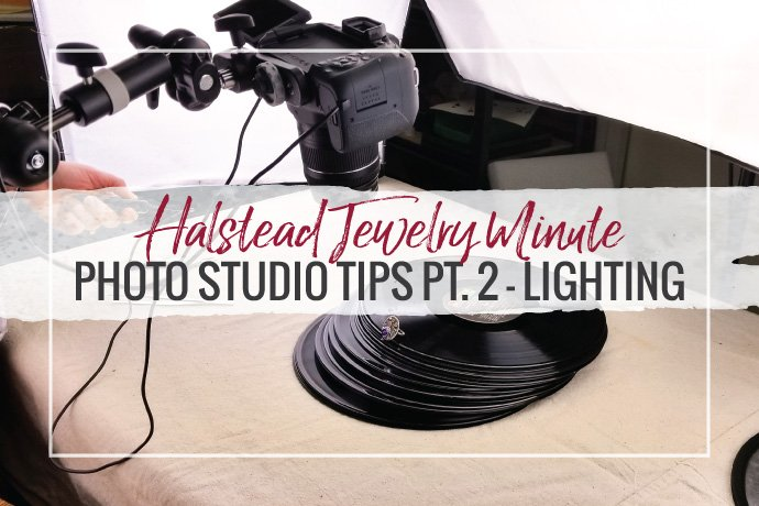 Learn about the different types of photo lighting to make your jewelry photography simple and inexpensive.