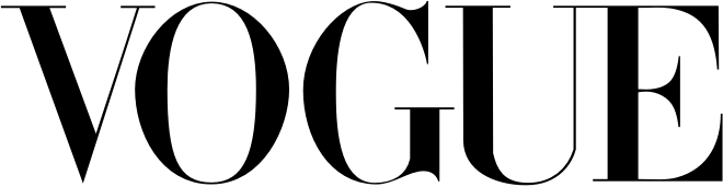 Vogue black logo