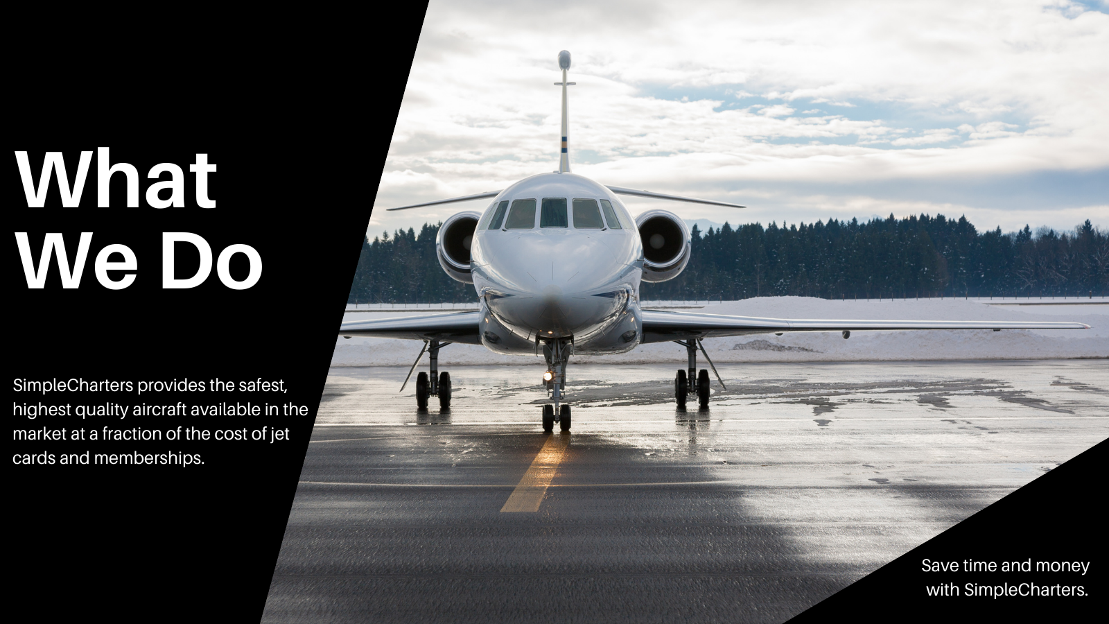 Safe, Quality Aircraft for Private Charter