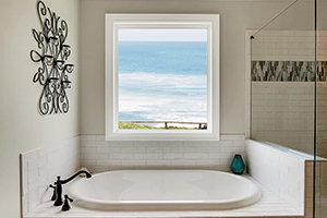 Custom replacement fiberglass windows from Infinity from Marvin