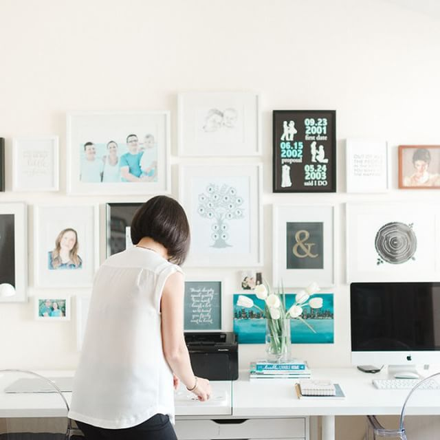 Vana Chupp Le Papier Studio in Gallery Creating Custom Profiles