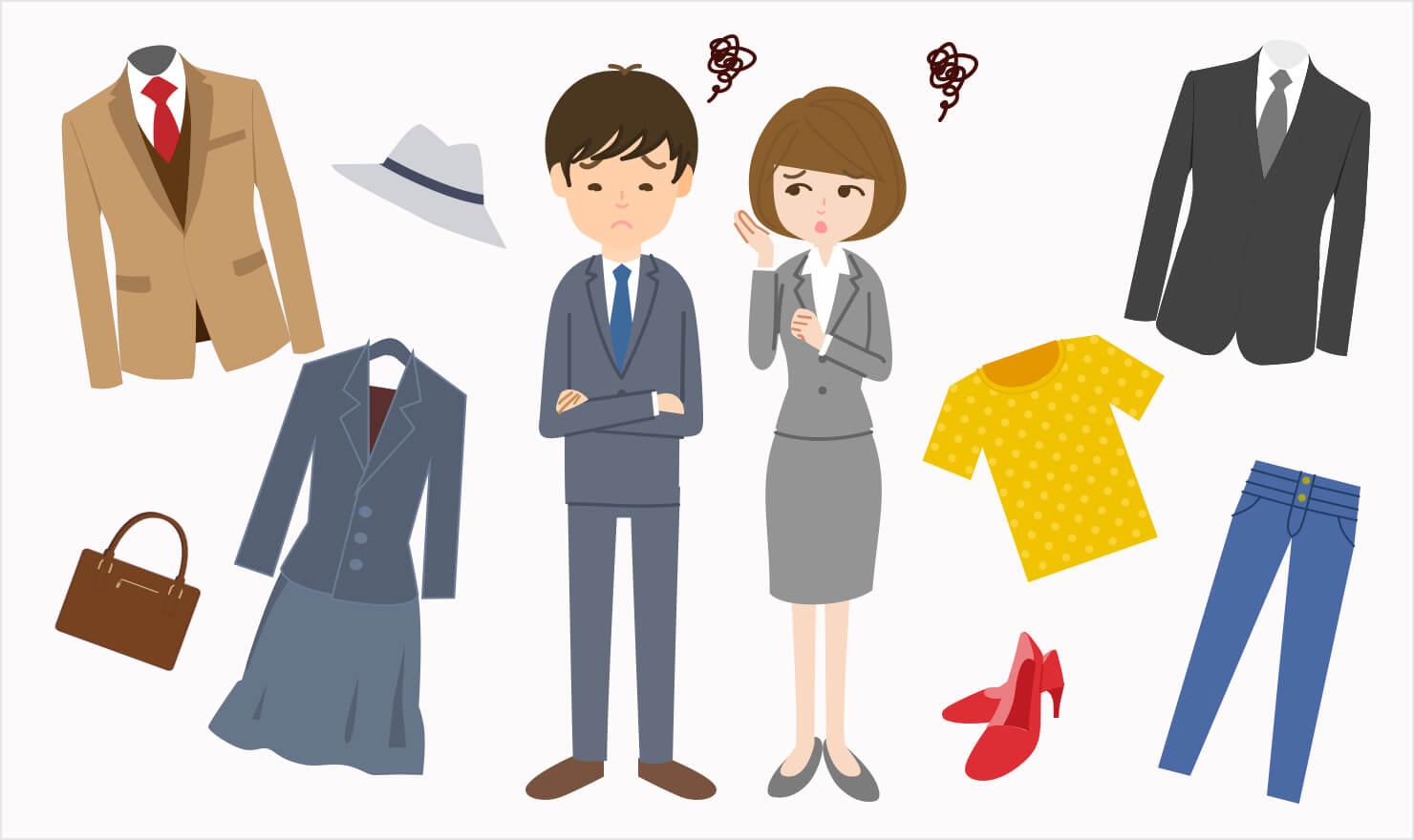 「面接で何着る?」第一印象を良くするスーツ・私服の選び方