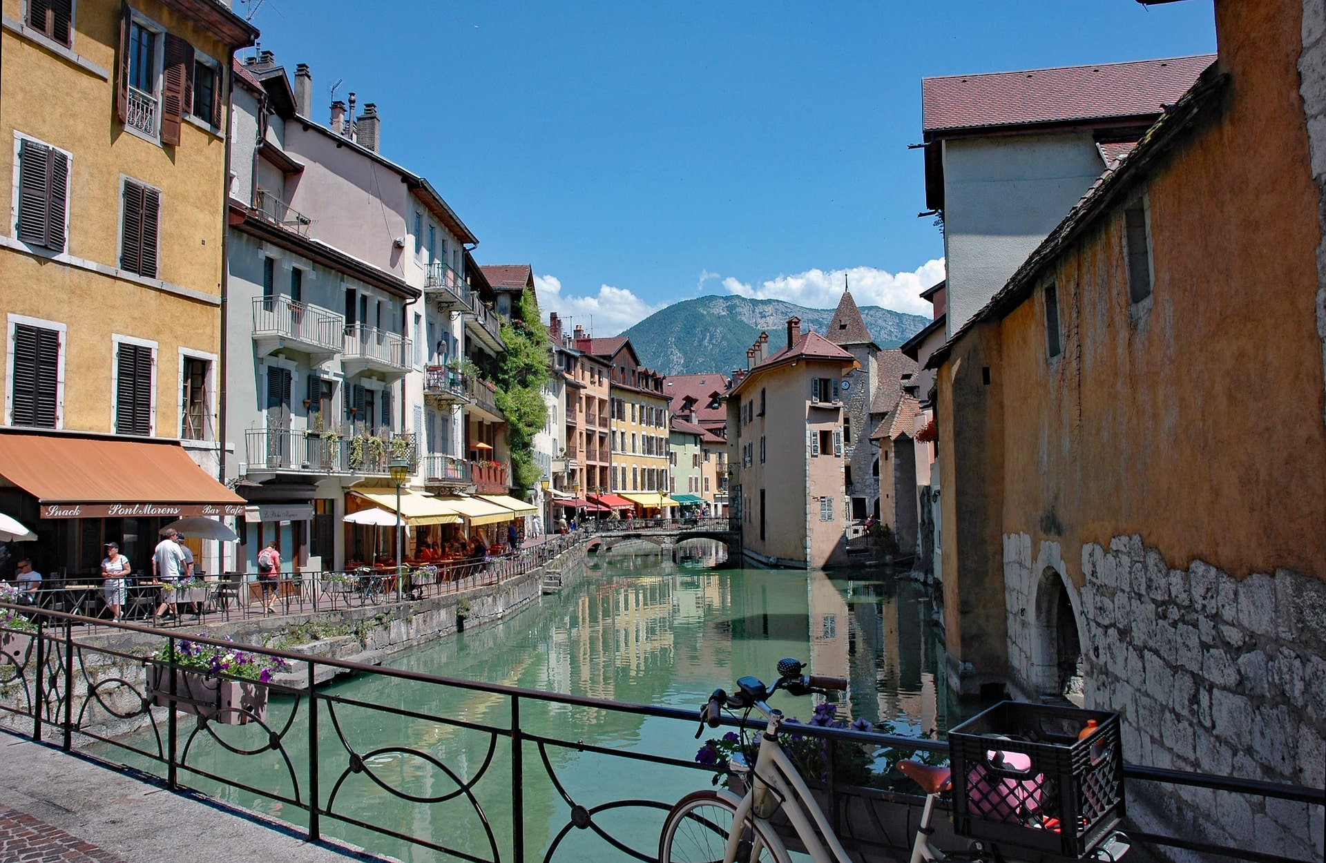 The French Alps are one of the best places to stay in France