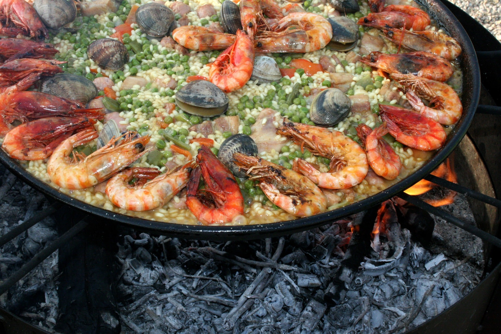 Valencia is an amazing place to visit in Spain for paella