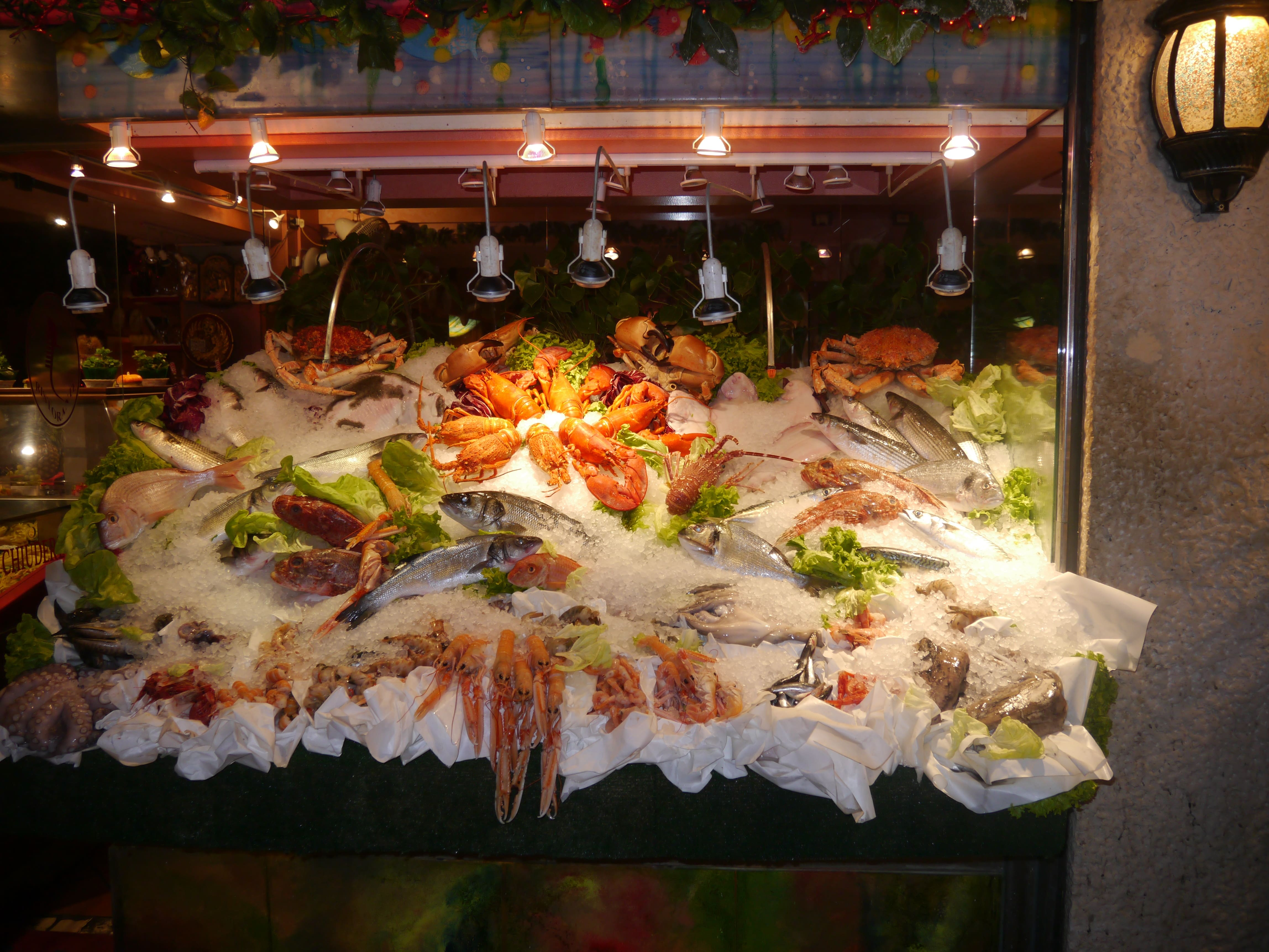 Indulging in seafood in Venice is an awesome thing to do in Italy