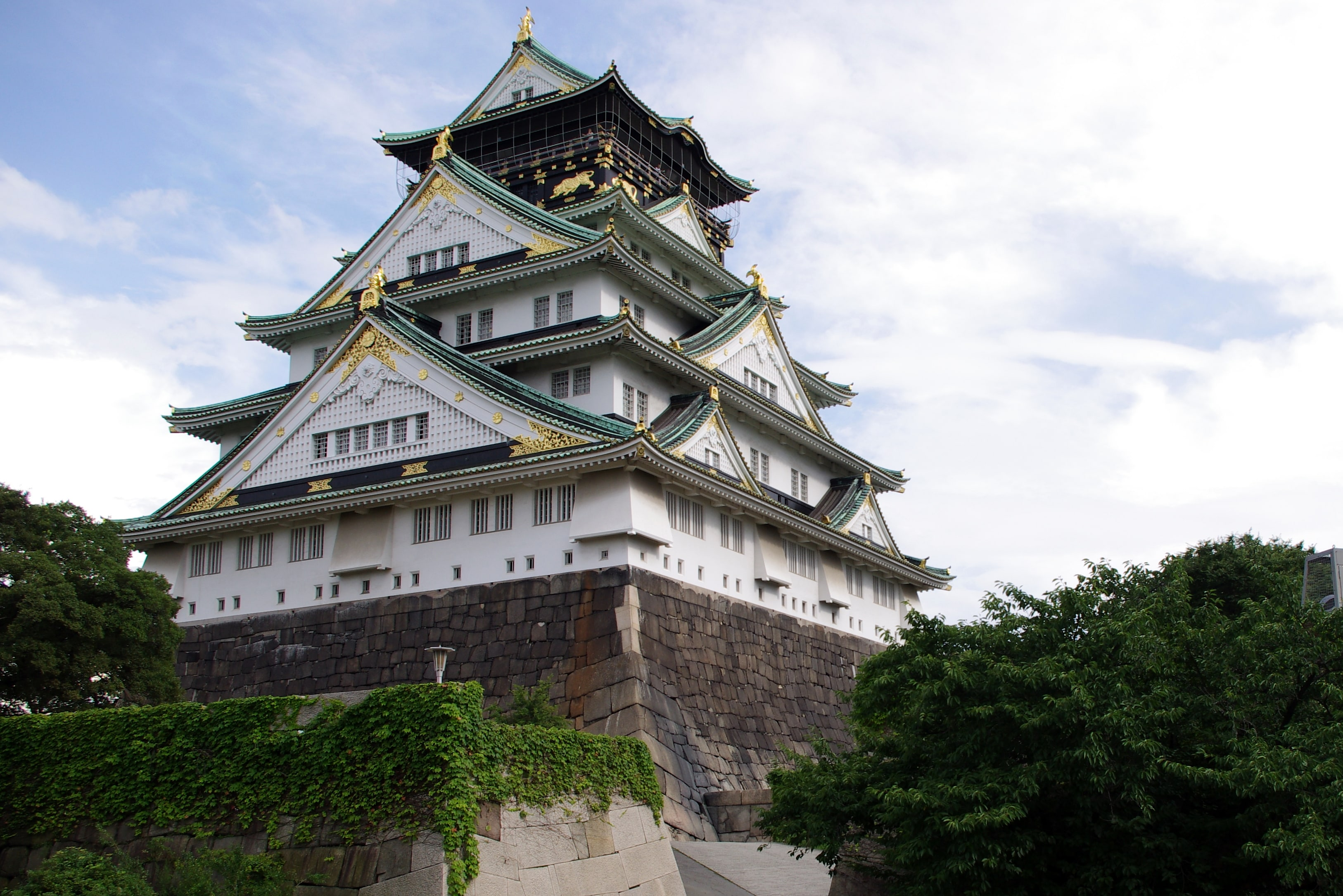 Free landmarks in Osaka  one of the best cities to visit in Japan