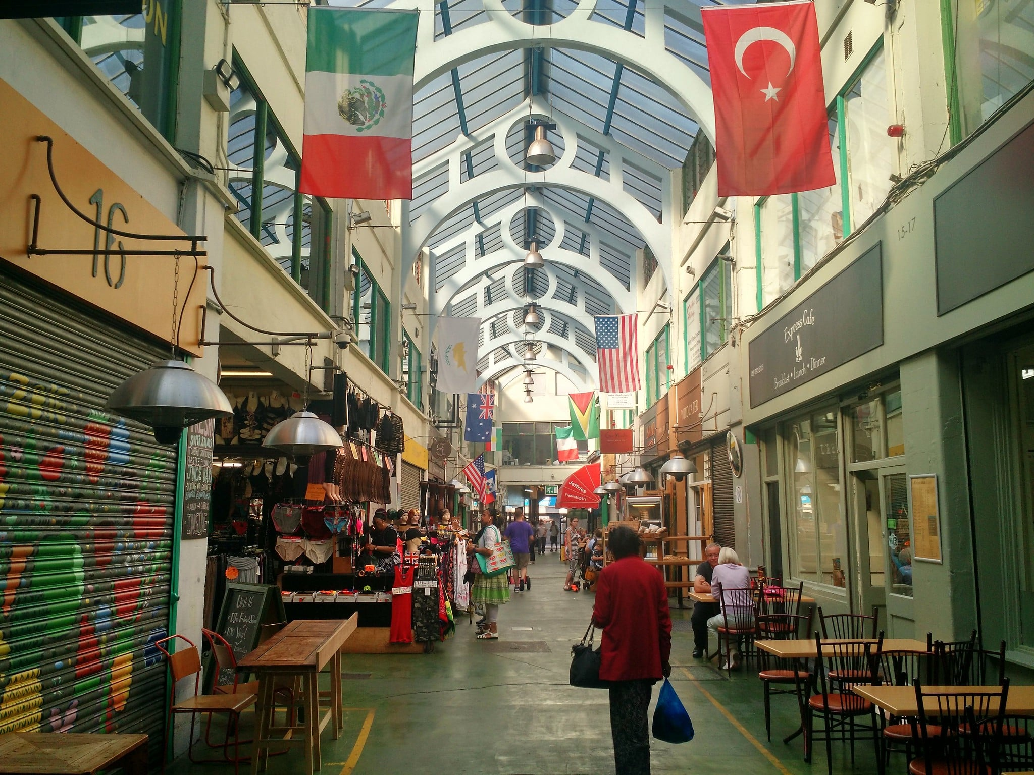 Brixton is where to stay in London for amazing international cuisine