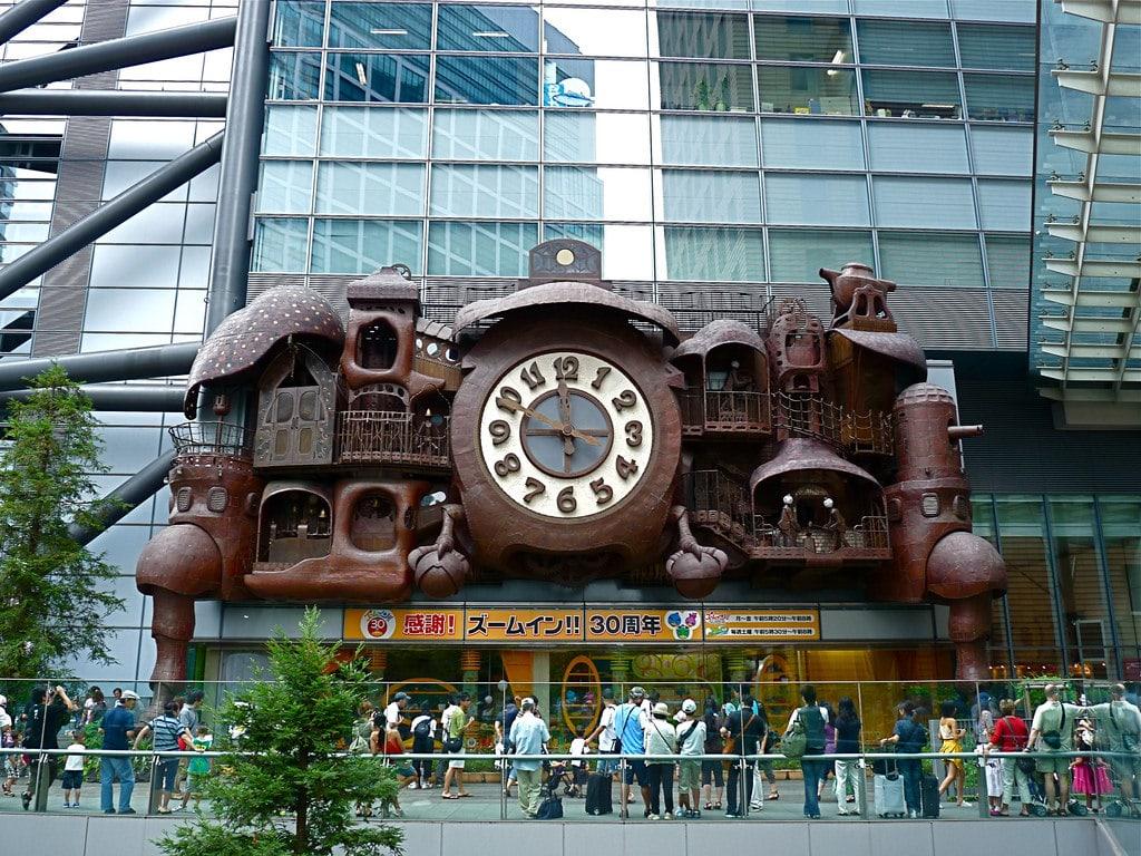ni-tele clock tokyo hidden gems japan