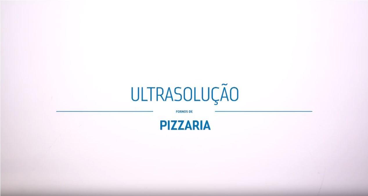 """Imagem escrita """"Ultrasolução Fornos de Pizzaria"""""""