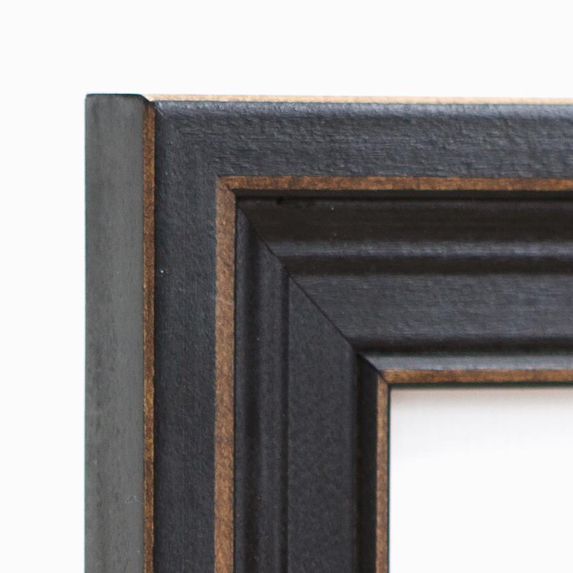 Augusta Frame Corner –16x20 distressed black frame