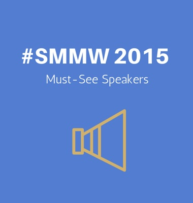 The Must-See Speakers of Social Media Marketing World 2015