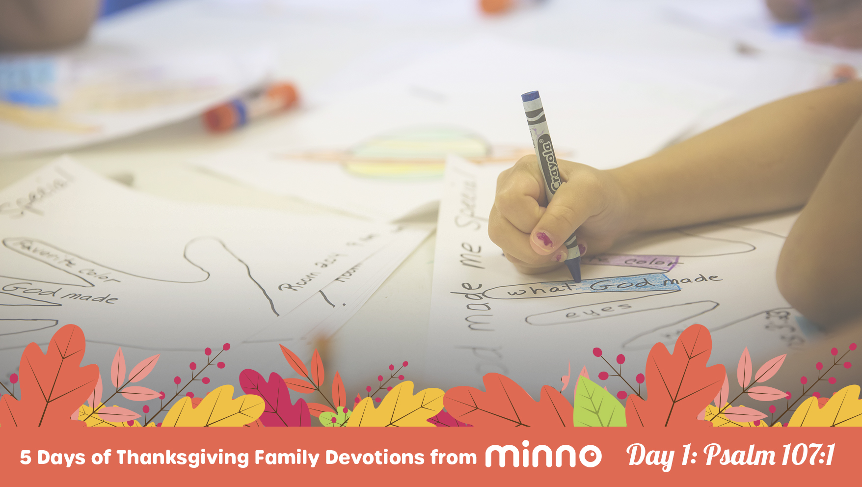 Thanksgiving Family Devotions - Day 1