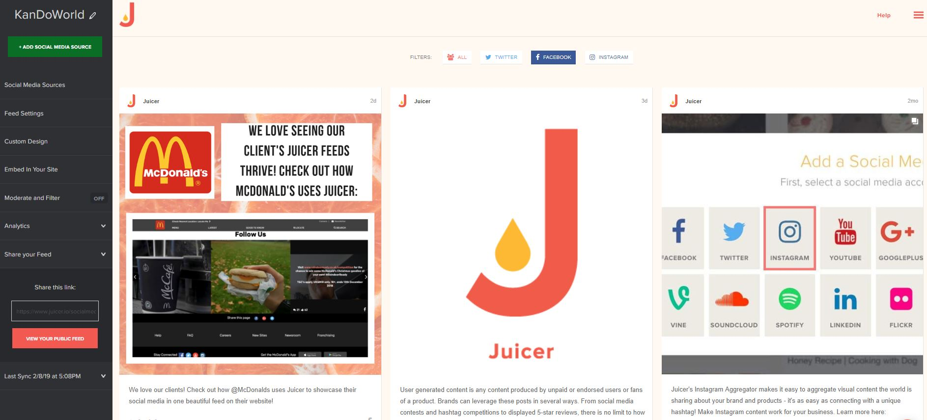 1 Social Media Aggregator - Social Media Aggregation Tools - Juicer