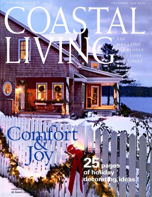 Coastal Living Magazine featuring the Endless Pool