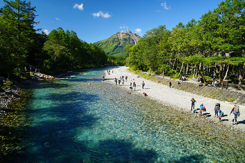 best place to visit in Japan Kamikochi
