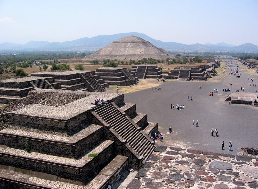See the Pyramids of Teotihuacan during the best time to visit Mexico City